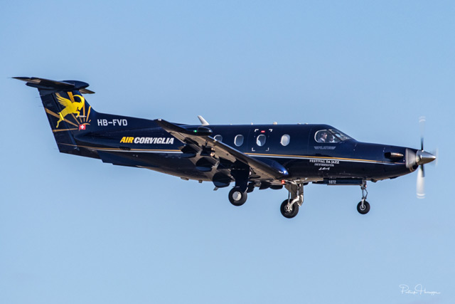 Pilatus PC-12 - Air Corviglia - HB-FVD
